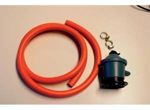 Bilde av Gassregulator m/1,1m og 2,5 m slange