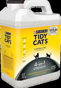 Bilde av Tidy Cats 4-in-1 Strength Kattesand 9,07 kg